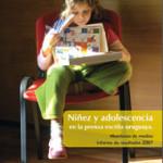Niñez y Adolescencia en la prensa escrita uruguaya. Monitoreo de medios. Informe de resultados 2007